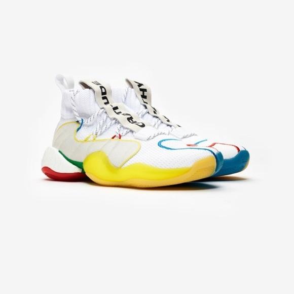 b0afaa4b1b9eb Adidas Crazy BYW LVL by Pharrell Williams (size11)